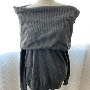 Victoria's Secret Cowl Neck Off Shoulder Sweater